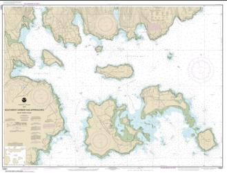 Southwest Harbor and Approaches (13321-9) by NOAA