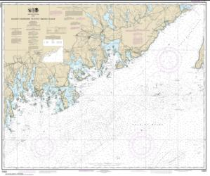 Quoddy Narrows to Petit Manan lsland (13325-16) by NOAA