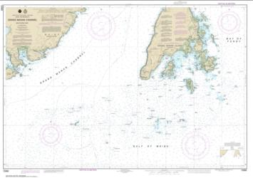 Grand Manan Channel Southern Part (13392-3) by NOAA