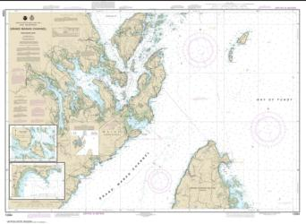 Grand Manan Channel Northern Part; North Head and Flagg Cove (13394-5) by NOAA