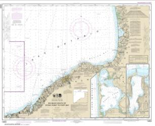 Six Miles south of Stony Point to Port Bay; North Pond; Little Sodus Bay (14803-28) by NOAA