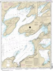 Chaumont, Henderson and Black River Bays; Sackets Harbor; Henderson Harbor; Chaumont Harbor (14811-17) by NOAA