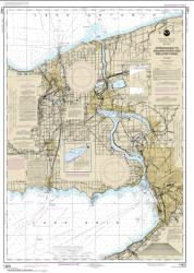 Approaches to Niagara River and Welland Canal (14822-32) by NOAA