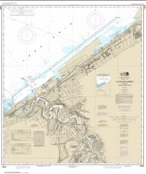 Cleveland Harbor, including lower Cuyahoga River (14839-37) by NOAA
