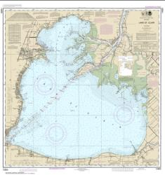 Lake St. Clair (14850-54) by NOAA