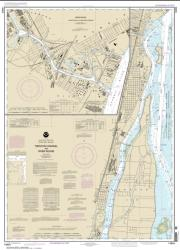 Trenton Channel and River Rouge; River Rouge (14854-14) by NOAA