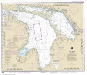 Lake Huron (14860-36) by NOAA