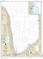 Port Huron to Pte aux Barques; Port Sanilac; Harbor Beach (14862-28) by NOAA