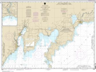 Dutch Johns Point to Fishery Point, including Big Bay de Noc and Little Bay de Noc; Manistique (14908-18) by NOAA