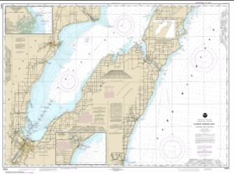 Lower Green Bay; Oconto Harbor; Algoma (14910-23) by NOAA