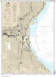 Milwaukee Harbor (14924-29) by NOAA