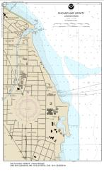 SMALL-CRAFT BOOK CHART - Chicago and South Shore of Lake Michigan (book of 30 charts) (14926-12) by NOAA