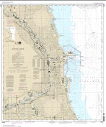 Chicago Harbor (14928-23) by NOAA