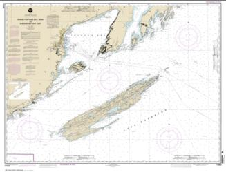 Grand Portage Bay, Minn. to Shesbeeb Point, Ont. (14968-28) by NOAA