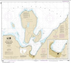 Munising Harbor and Approaches; Munising Harbor (14969-23) by NOAA