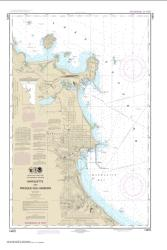 Marquette and Presque Isle Harbors (14970-27) by NOAA