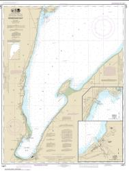 Keweenaw Bay; L Anse and Baraga Harbors (14971-22) by NOAA