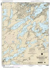 Basswood Lake, Western Part (14988-10) by NOAA