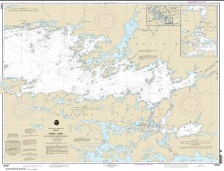 Rainy Lake-Big Island, Minn., to Oakpoint Island, Ont.; Kettle Falls (14996-15) by NOAA
