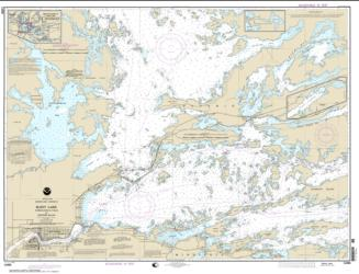Rainy Lake-International Falls to Dryweed Island (14998-15) by NOAA