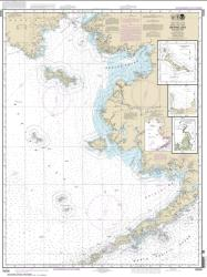 Bering Sea-eastern part; St. Matthew Island, Bering Sea; Cape Etolin, Achorage, Nunivak Island (16006-35) by NOAA