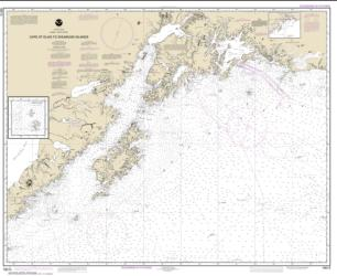 Cape St. Elias to Shumagin Islands; Semidi Islands (16013-30) by NOAA