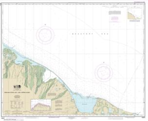 Demarcation Bay and approaches (16041-9) by NOAA