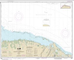 Bullen Pt. to Brownlow Pt. (16045-8) by NOAA