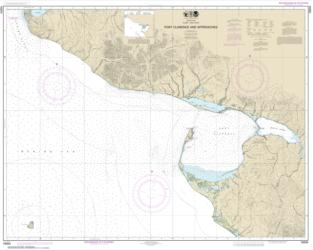 Port Clarence and approaches (16204-7) by NOAA
