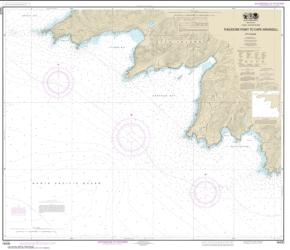Attu Island Theodore Pt. to Cape Wrangell (16430-7) by NOAA