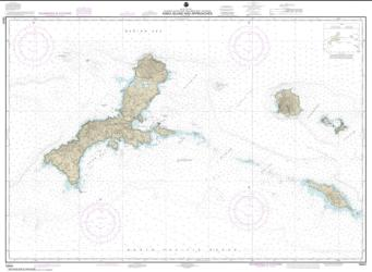 Kiska Island and approaches (16441-8) by NOAA