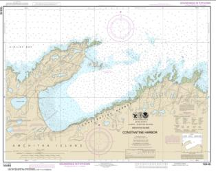 Constantine Harbor, Amchitka Island (16446-9) by NOAA