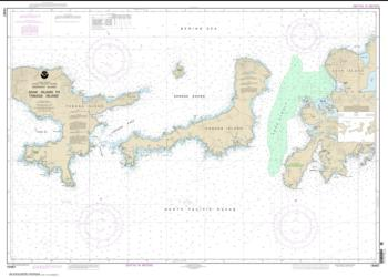 Adak Island to Tanaga Island (16467-2) by NOAA