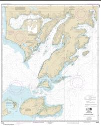 Kodiak Island Sitkinak Strait and Alitak Bay (16590-12) by NOAA