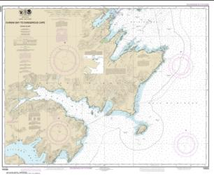 Chiniak Bay to Dangerous Cape (16593-12) by NOAA