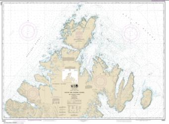 Shuyak and Afagnak Islands and adjacent waters (16604-12) by NOAA
