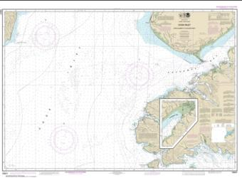 Cook Inlet-Cape Elizabeth to Anchor Point (16647-4) by NOAA