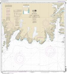 Point Elrington to Cape Resurrection (16683-12) by NOAA