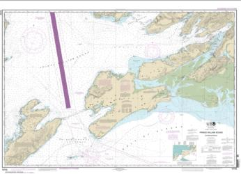 Prince William Sound-eastern entrance (16709-25) by NOAA