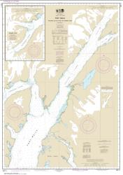 Port Wells, including College Fiord and Harriman Fiord (16711-3) by NOAA