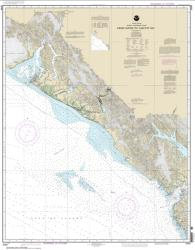 Cross Sound to Yakutat Bay (16760-10) by NOAA