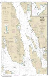 Lynn Canal-Icy Str. to Point Sherman; Funter Bay; Chatham Strait (17316-21) by NOAA