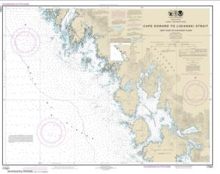 Cape Edward to Lisianski Strait, Chichagof Island (17321-10) by NOAA