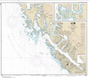 Khaz Bay, Chichagof Island Elbow Passage (17322-11) by NOAA