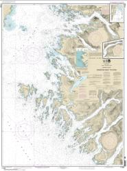 Crawfish Inlet to Sitka, Baranof I.; Sawmill Cove (17326-17) by NOAA