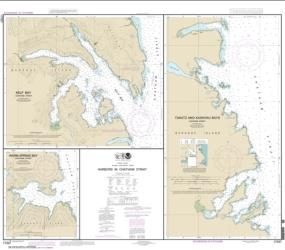 Harbors in Chatham Strait Kelp Bay; Warm Spring Bay; Takatz and Kasnyku Bays (17337-10) by NOAA