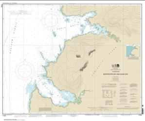 Whitewater Bay and Chaik Bay, Chatham Strait (17341-10) by NOAA