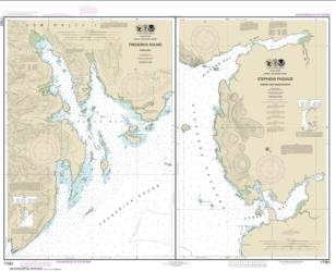 Pybus Bay, Frederick Sound; Hobart and Windham Bays, Stephens P. (17363-14) by NOAA