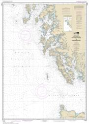 Dixon Entrance to Chatham Strait (17400-18) by NOAA