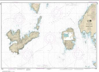 Southern Entrances to Sumner Strait (17402-12) by NOAA